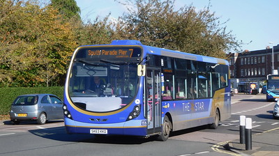 First Solent 63063 - SK63KKD - Cosham (Highbury Buildings)