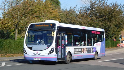 First Solent 47590 - SN14ECT - Cosham (Highbury Buildings)