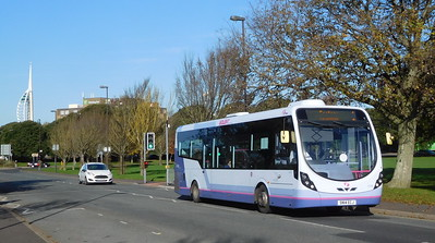 First Solent 47589 - SN14ECJ - Southsea (Duisburg Way)