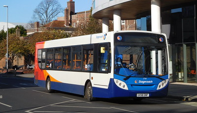 Stagecoach in Portsmouth 27561 - GX58GNF - Portsmouth (Queen St)