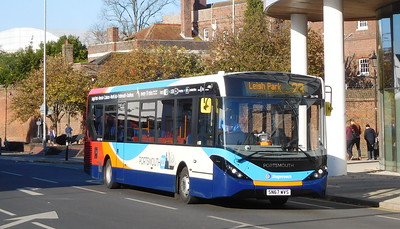 Stagecoach in Portsmouth 26148 - SN67WVS - Portsmouth (Queen St)