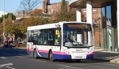 First Solent 44918 - YX09AHE - Portsmouth (Queen St)