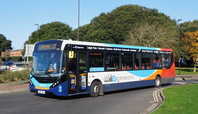Stagecoach in Portsmouth 26150 - SN67WVU - Southsea (Duisburg Way)