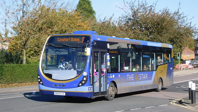 First Solent 63057 - SK63KJX - Cosham (Highbury Buildings)