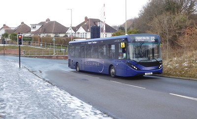First Solent 67173 - YX66WBL - Fareham (Redlands Lane BRT)