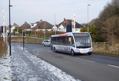 First Solent 53601 - YJ54BKA - Fareham (Redlands Lane BRT)