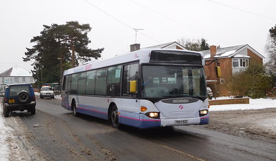 First Solent 65008 - YN54NZD - Locks Heath (Church Road)