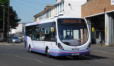 First Wessex 47408 - SK63KLL - Weymouth (Commercial Road)