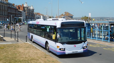 First Wessex 65006 - YN54NZA - Weymouth (King's Statue)