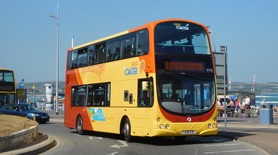 First Wessex 37276 - LK58EDL - Weymouth (King's Statue)