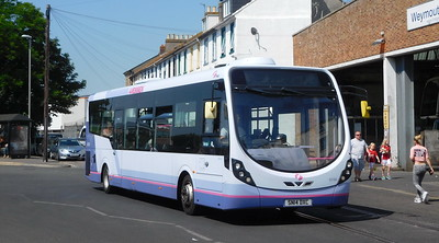First Wessex 63184 - SN14DXC - Weymouth (Commercial Road)