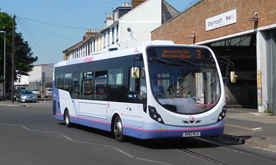 First Wessex 47410 - SK63KLO - Weymouth (Commercial Road)