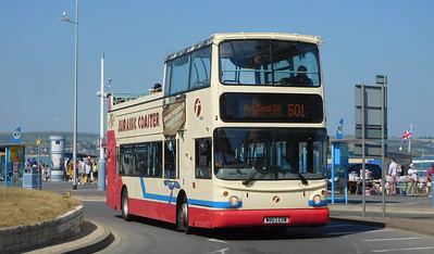 First Wessex 32033 - W803EOW - Weymouth (King's Statue)