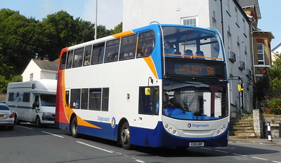 Stagecoach in Devon 15605 - GX10HBP - Lyme Regis (Post Office)