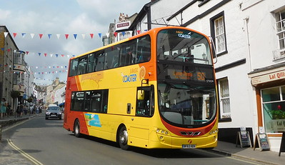 First Wessex 37997 - BF63HDV - Lyme Regis (Broad St)
