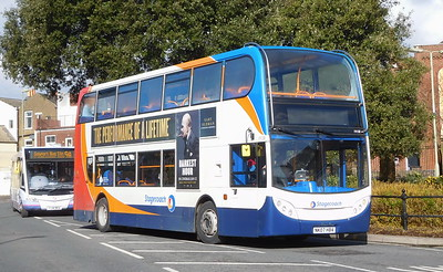Stagecoach South 19158 - NK07HBA - Fareham (Hartlands Road)