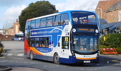 Stagecoach South 10890 - YX67VCC - Fareham (Hartlands Road)
