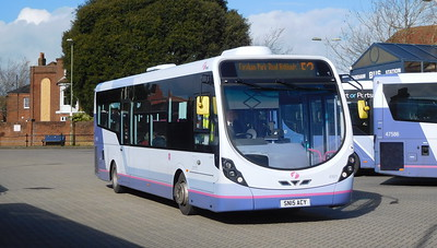 First Solent 47671 - SN15ACY - Fareham (bus station)