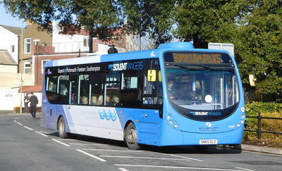 First Solent 63308 - SN65OLO - Fareham (Hartlands Road)