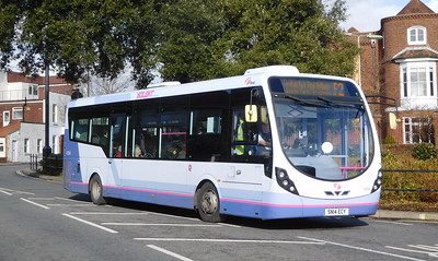 First Solent 47594 - SN14ECY - Fareham (Hartlands Road)