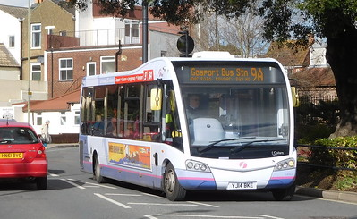 First Solent 53603 - YJ14BKE - Fareham (Hartlands Road)