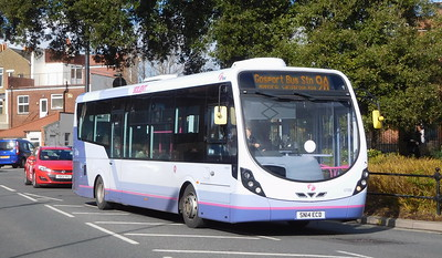 First Solent 47586 - SN14ECD - Fareham (Hartlands Road)