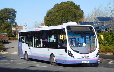 First Solent 47665 - SN15ACF - Fareham (Hartlands Road)