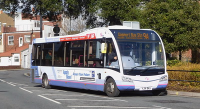 First Solent 53601 - YJ14BKA - Fareham (Hartlands Road)