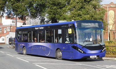 First Solent 67172 - YX66WBJ - Fareham (Hartlands Road)