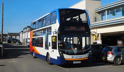 Stagecoach South 10893 - YX67VCF - Alton (railway station)