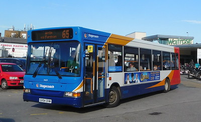 Stagecoach South 34629 - GX54DVW - Alton (railway station)