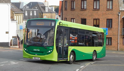 Southern Vectis 2712 - HW64AXC - Cowes (Terminus Road)