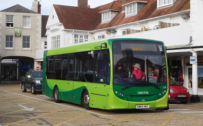 Southern Vectis 2709 - HW64AWZ - Cowes (Town Quay)