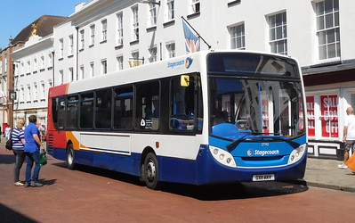 Stagecoach in the South Downs 27742 - GX11AKV - Chichester (West St)