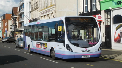 First Solent 63109 - SM13NCU - Portsmouth (The Hard)