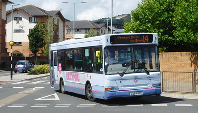 First Cymru 42606 - CU54HYR - Swansea (West Way / bus station)