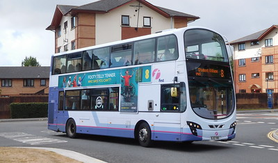 First Cymru 36212 - BJ12VWU - Swansea (West Way / bus station)