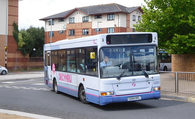 First Cymru 42601 - CU54HYL - Swansea (West Way / bus station)