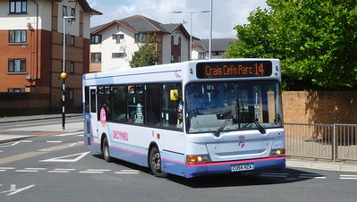First Cymru 42613 - CU54HZA - Swansea (West Way / bus station)