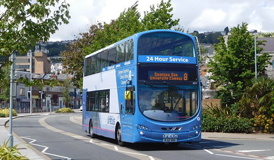First Cymru 36212 - BJ12VWV - Swansea (West Way / bus station)