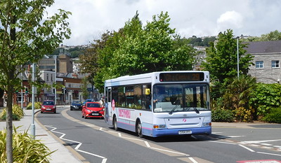 First Cymru 42608 - CU54HYV - Swansea (West Way / bus station)