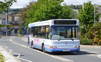 First Cymru 42603 - CU54HYN - Swansea (West Way / bus station)