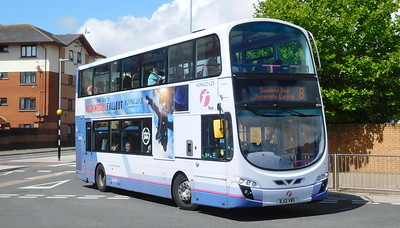First Cymru 36210 - BJ12VWS - Swansea (West Way / bus station)