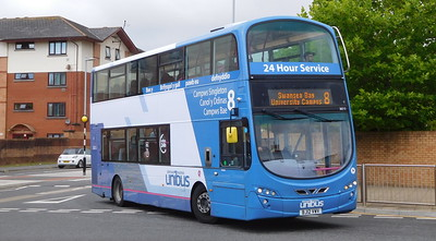 First Cymru 36213 - BJ12VWV - Swansea (West Way / bus station)