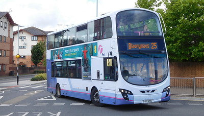 First Cymru 36207 - BJ12VWO - Swansea (West Way / bus station)