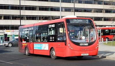 First Southampton 47605 - SN14FFK - Southampton (Blechynden Terrace)