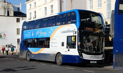 Stagecoach South 10945 - SN18KNJ - Worthing (Marine Parade)