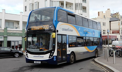 Stagecoach South 10960 - SN18KOB - Worthing (Marine Parade)