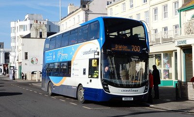 Stagecoach South 10966 - SN18KOV - Worthing (Marine Parade)