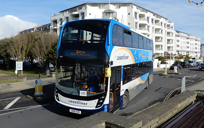 Stagecoach South 10961 - SN18KOD - Worthing (Marine Parade)